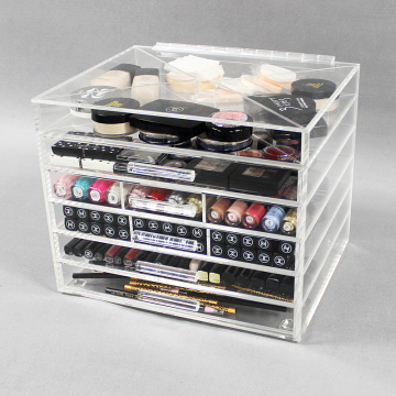 Cheap Affordable Acrylic Makeup Organizers