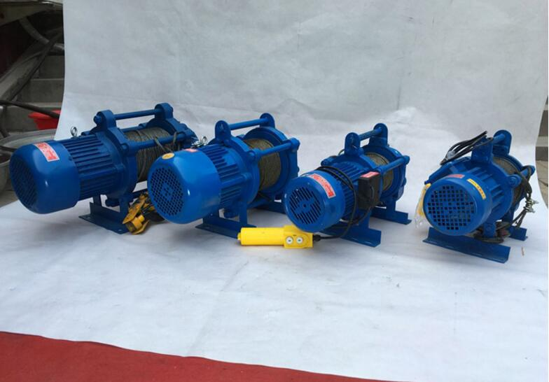 1ton Electric Wire Rope Winch