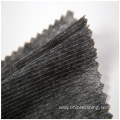 Nonwoven double dot stitched garment interlining
