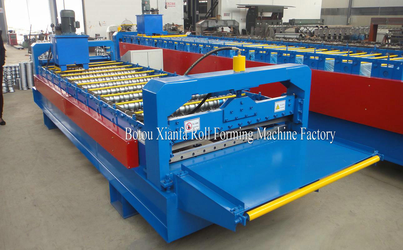pre hydraulic cutter forming machine