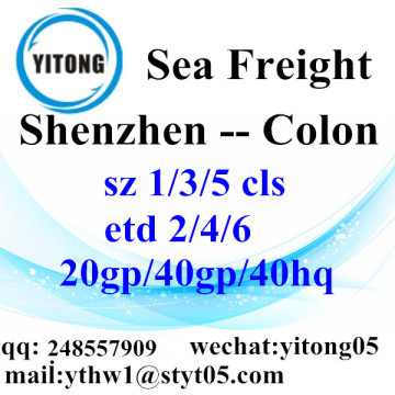 Shenzhen Ocean Freight Logistics Services to Colon
