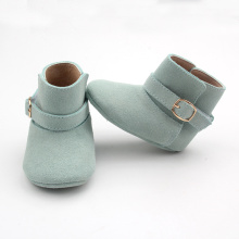 Colorful Ankle Genuine Leather Baby Boots