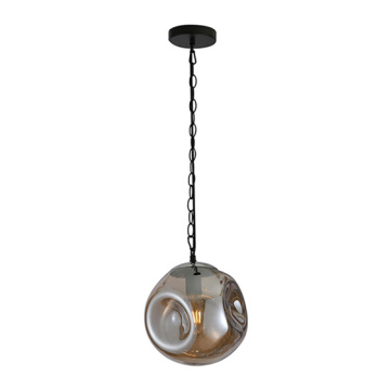 Modern Pendant Lamp E27 Bulb Glass Ball Lighting