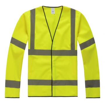 Special Price for Flame Retardant Safety Vest 100% Polyester FR safety cloth supply to North Korea Importers