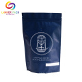 Custom Resealable Ziplock Coffee Bags With Degassing Valve