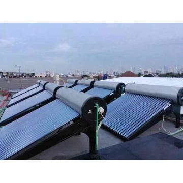 Heat pipe pressurized solar water heater 200L