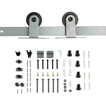 Grey coating sliding door hardware kits
