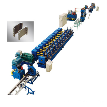 Stainless Metro rail automatic roll forming line