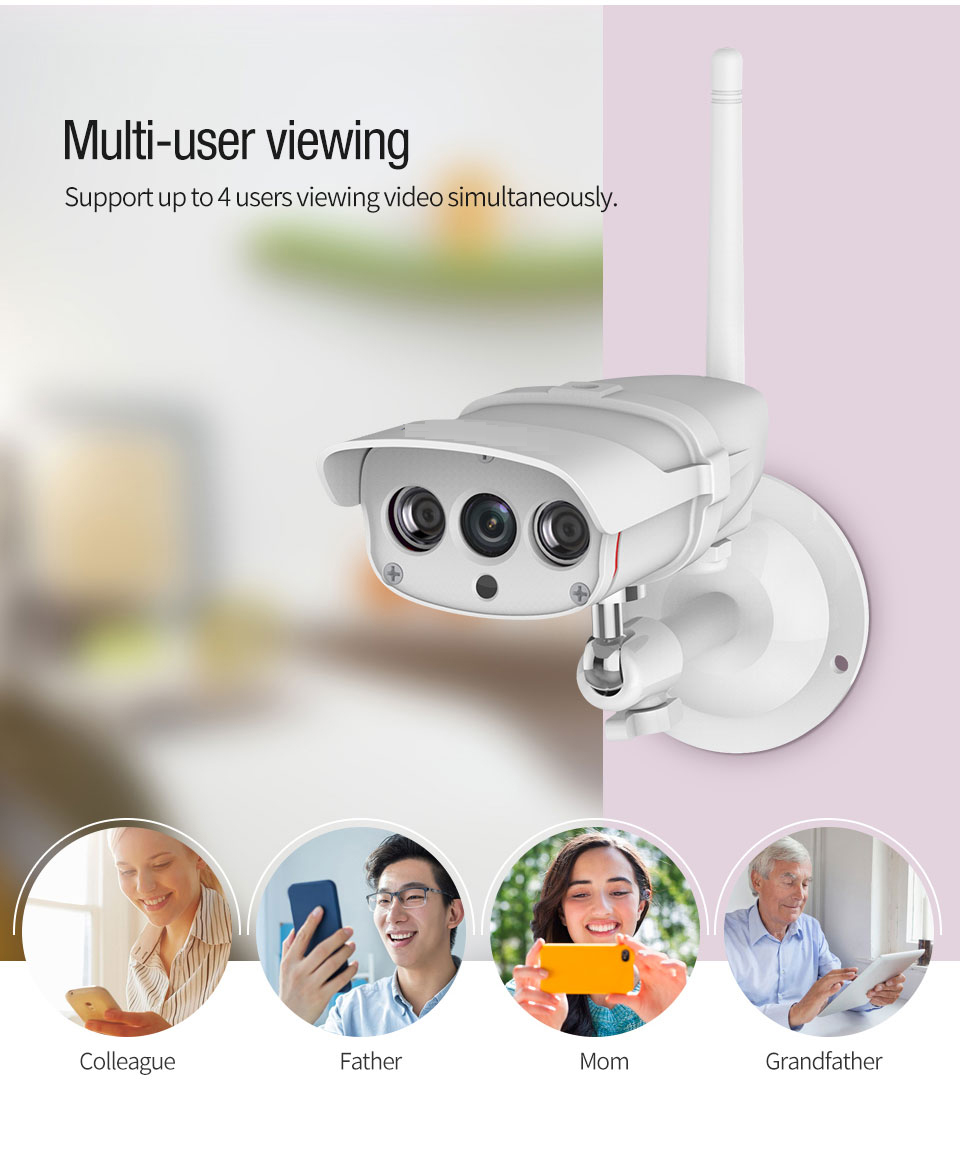 wireless outdoor cctv camera