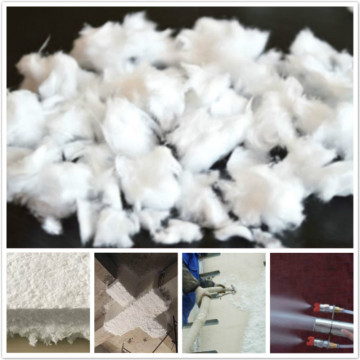 Inorganic granulated glass wool