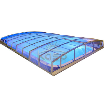 Leading for China Swimming Pool Enclosures,Retractable Pool Enclosure,Retractable Swimming Pool Enclosures Manufacturer Hot Tub Backyard Cheap Swimming Pool Cover supply to Guadeloupe Manufacturers