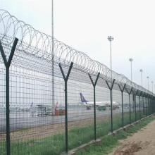 High Security Welded Wire Mesh Airport Fence