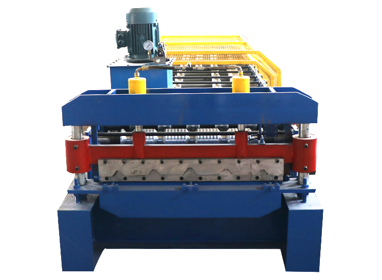 trapezoidal roof tile roll forming machine