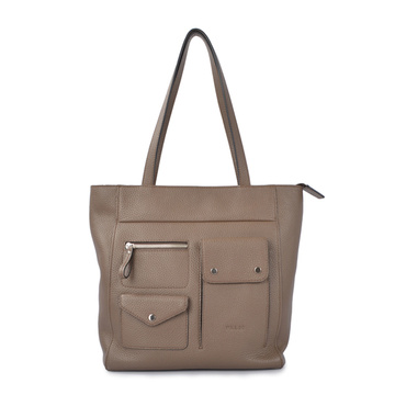 60% Off Zipper Leather Tote Pocket Shoulder Bags