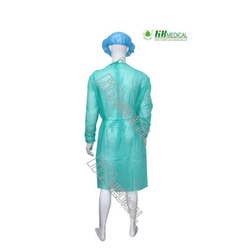 nonwoven/PE lamination PP lamination isolation gown
