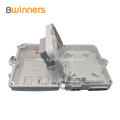 Plastic Fiber Optic Distribution Box 16 Core SC Waterproof FTTH PLC Splitter