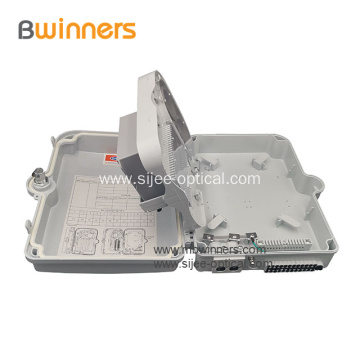 Outdoor Waterproof 16 Core FTTH Fiber Optic Cable Distribution Box