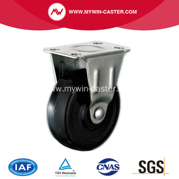 40mm Black Rubber Light Duty Industrial Caster