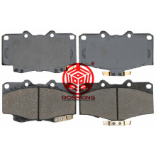 OEM manufacturer custom for Toyota Car Brake Disc BRAKE PAD FOR TOYOTA 4RUNNER HILUX supply to Solomon Islands Exporter