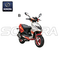 Jonway YY50QT-28 Complete Scooter Spare Parts Original Quality