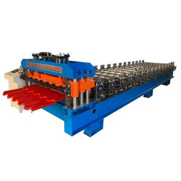Stand Type Metal Glazed Roofing Roll Forming Machinery