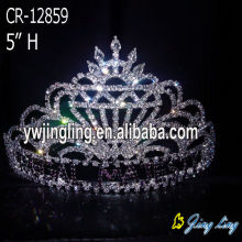 Pageant Jewelry Rhinestone Crown