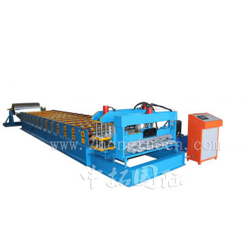 Arc Bias Glazed Tile Roll Forming Machine