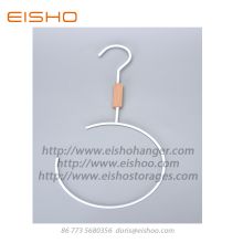 Leading for Wire Clothes Hangers EISHO Wooden Metal Split Ring Hanger export to United States Factories