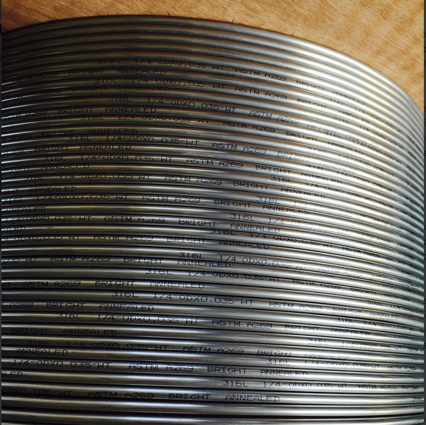 TP316L BRIGHT ANNEALED SEAMLESS COIL TUBING