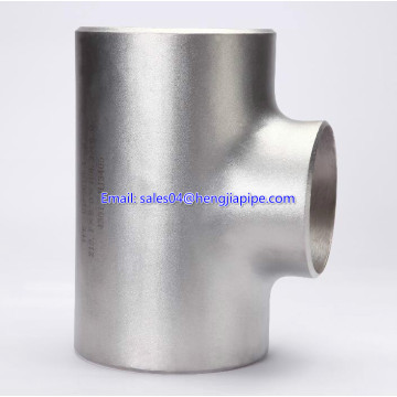 DIN Seamless stainless steel tee