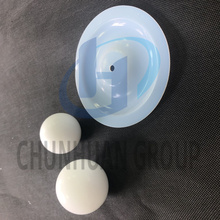 China for White PTFE Parts PTFE Machined Part PTFE Ball supply to Congo Factory