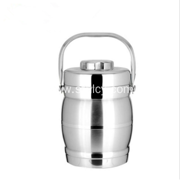 Stainless Steel Double Layer Heat Preservation Pot