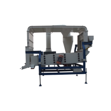 double air cleaning system seed grain cleaner