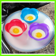 China Manufacturer for Microwave Egg Poacher Eco-friendly and Temperature Resistant Silicone Egg Cooker export to Nicaragua Exporter