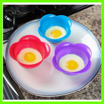 Top for Single Egg Poacher Food Grade Heat Resistant Silicone Egg Poacher export to Guinea Exporter