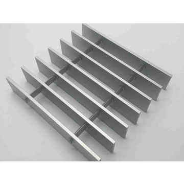 Industrial Swaged Rectangular Aluminum Grating