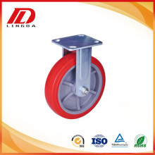 Professional High Quality for Heavy Duty Nylon Caster 200kg plate caster fixed wheels export to Cambodia Supplier