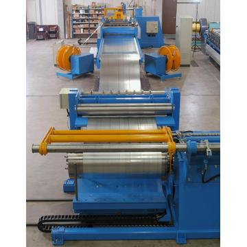 Automatic steel coil slitting cutter machine