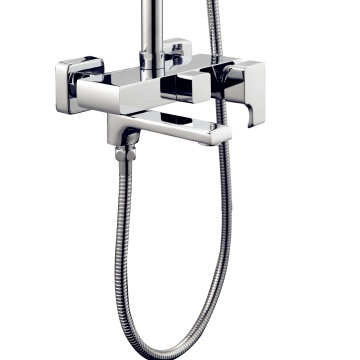 Bathroom Hot and Cold Rain Shower Mixer