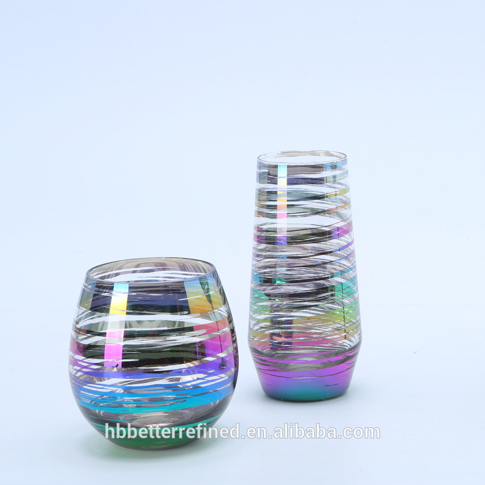 Wholesale Rainbow Goblet Wine Glass Relation0