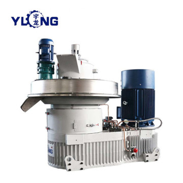 YULONG XGJ560 paddy husk pellet mill machine