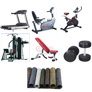 64㎡ complete home gym equipment Package