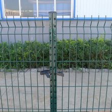 Hot sales Welded Triangle Curved Bending Fence Panel