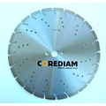 Laser Welded Segmented Diamond Blade