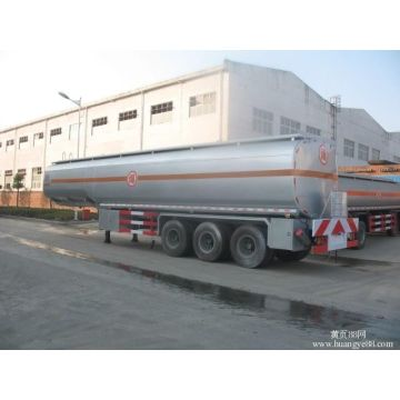Almunium Alloy Mobile Fuel Tanks Semi Trailer