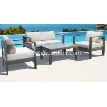 High quality aluminum outdoor furniture set