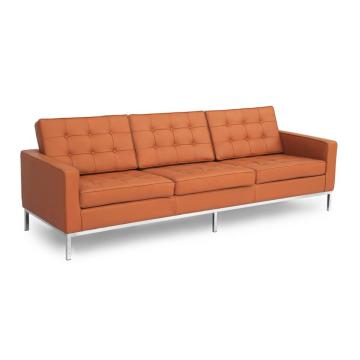 Florence mid century modern three seaters sofa