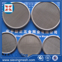 Good quality 100% for Stainless Steel Filter Disc Sintered Wire Mesh Filter Disc supply to Gibraltar Supplier