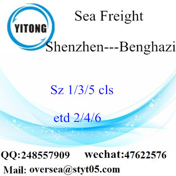 Shenzhen Port LCL Consolidation To Benghazi