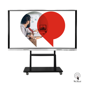 86 Inches Touch Panel With Mobile Stands